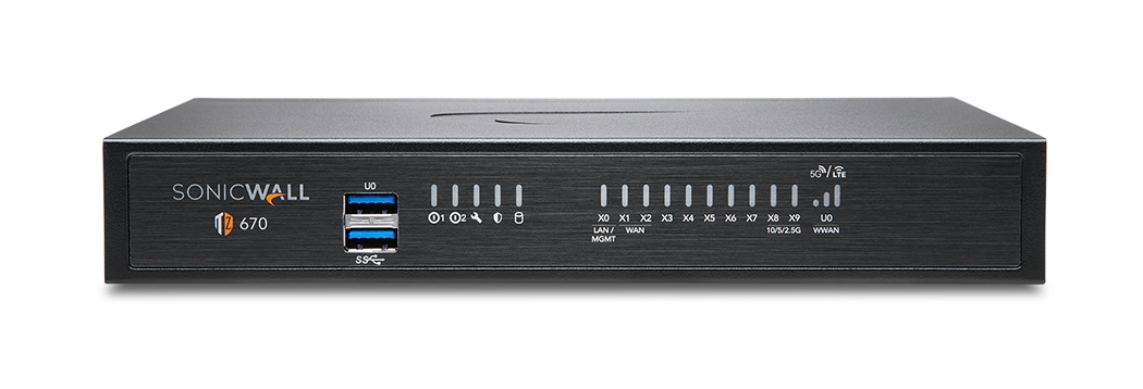 SonicWall TZ670 Series