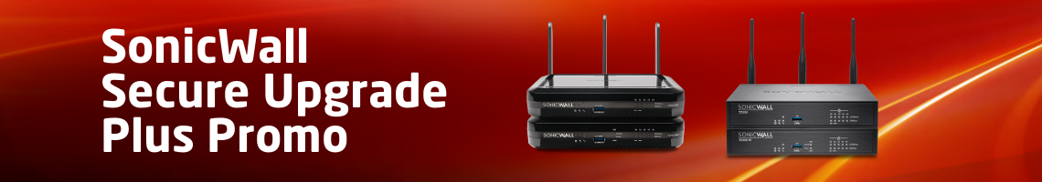 SonicWALL Secure Upgrade Plus Promo