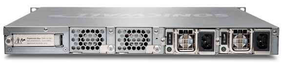 SonicWall E-Class NSA E8510 Appliance - Back View