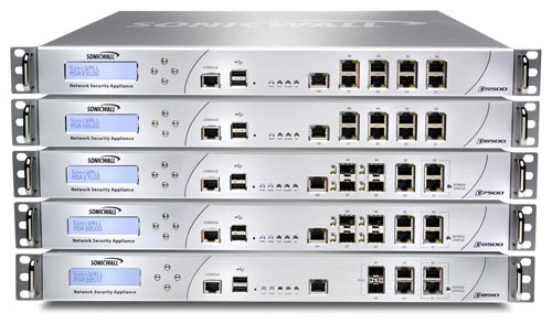 SonicWall E-Class Network Security Appliance (NSA) Series