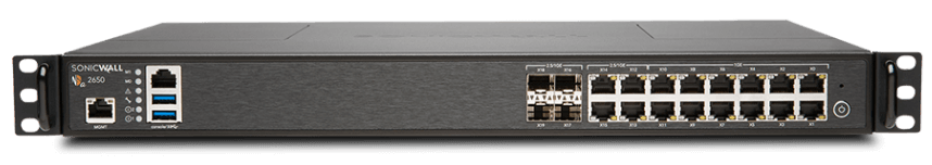SonicWall NSA 2650 Network Security Appliance